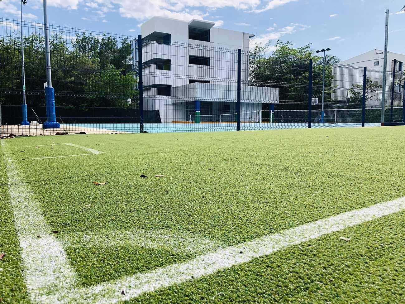 Cancha de Fútbol para Preescolar